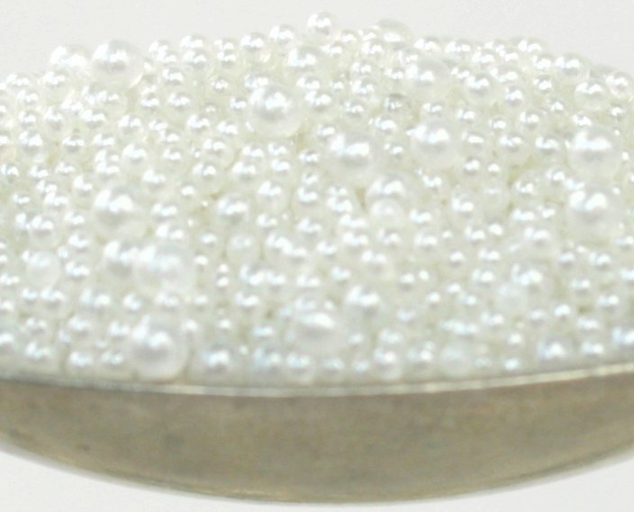Pearl White - Glass Beads (311-3016)