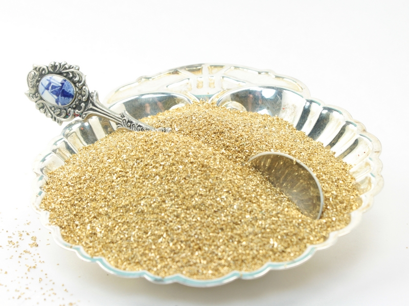 Gold Glass Glitter -  311-9-007
