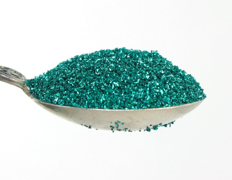 Green, Emerald Green Glass Glitter - 311-9-008