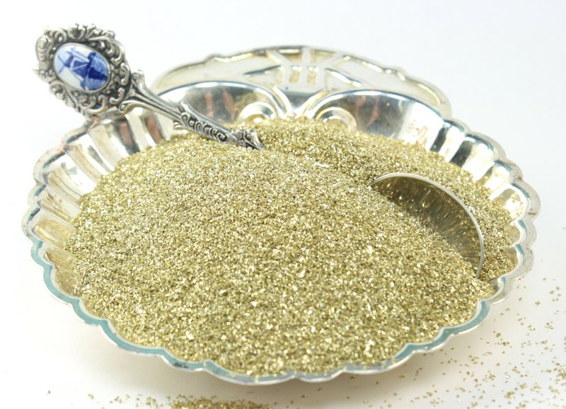 Gold - Bright Gold - Glass Glitter - 311-9-009