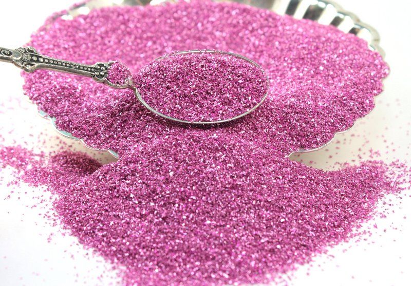 Rose  - Old Rose - Glass Glitter - 311-9-016