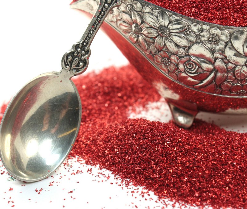 Red Glass Glitter - 311-9-022