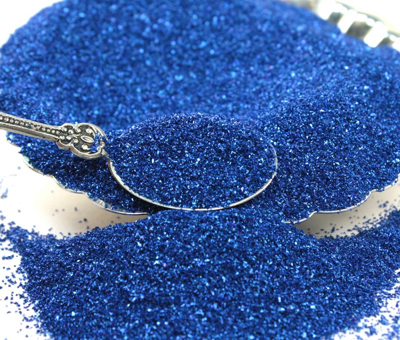 Blue, Dark Blue - Glass Glitter - 311-9-029