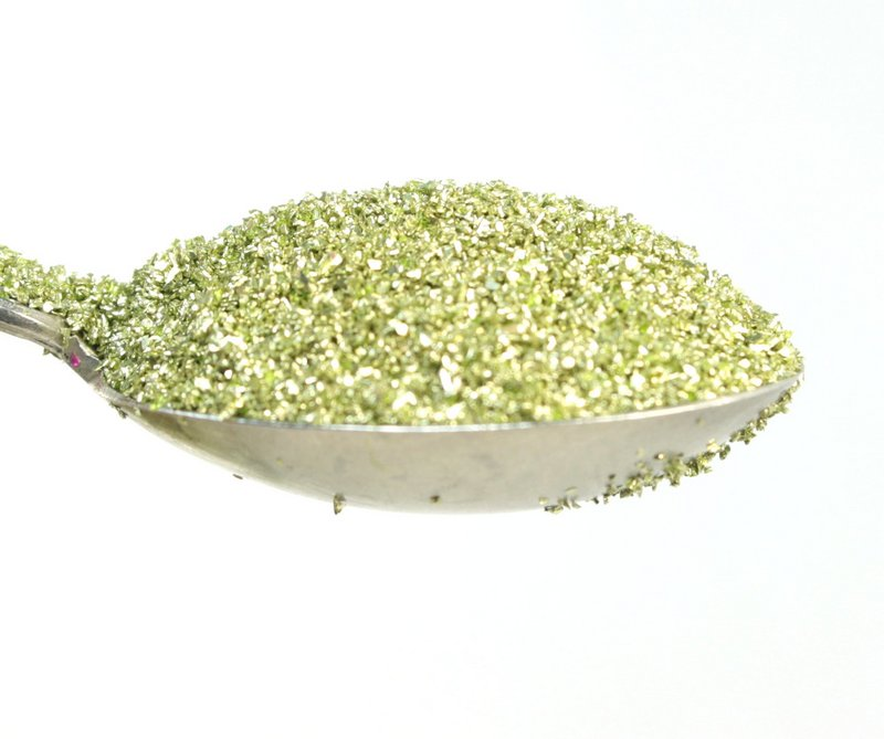 Green, Lime Green Glass Glitter - 311-9-109