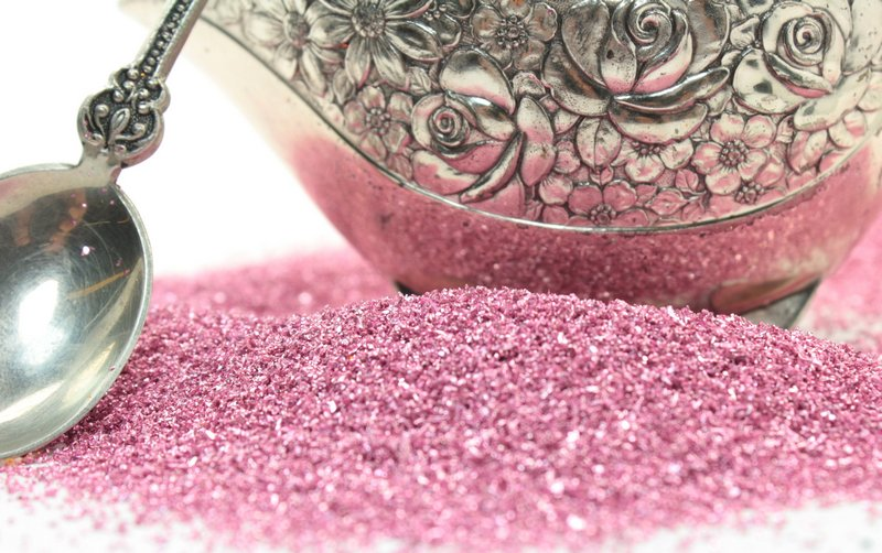 Rose Pastel Glass Glitter - 311-9-165
