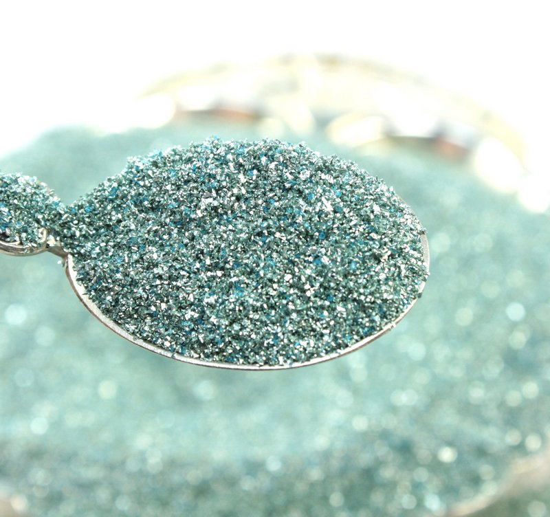 Blue,  Pale Blue - Glass Glitter - 311-9-295