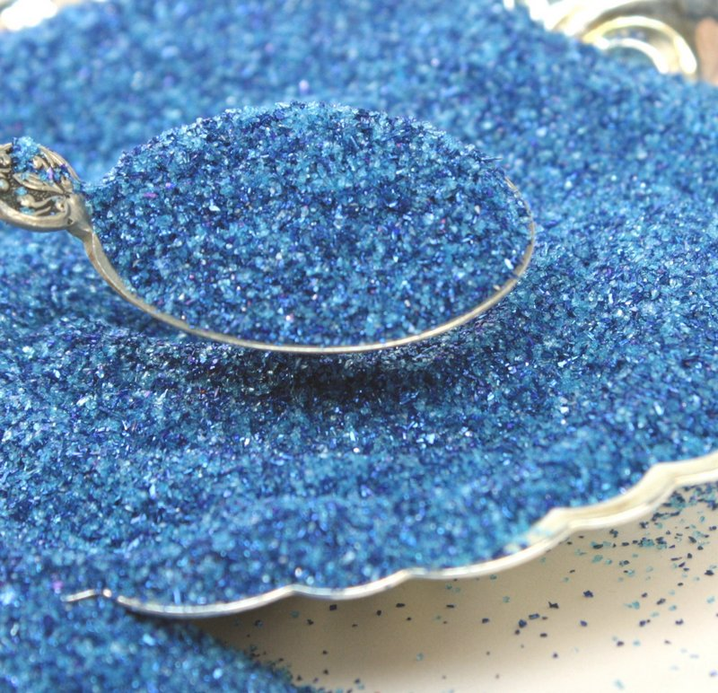 Blue - Royal Blue Glitter - 311-BD-09
