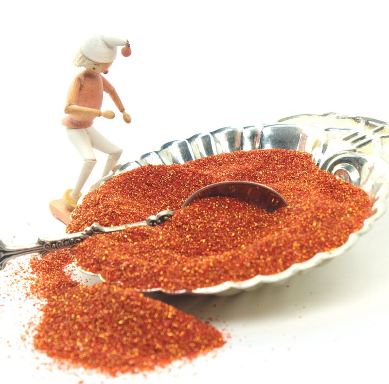 Fire Orange Glitter - 311-BD-10