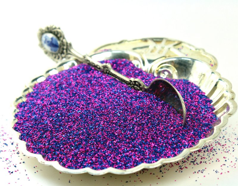 Regal Magenta Glitter - 311-BD-18
