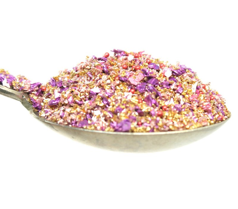 Golden Raspberry Glitter - 311-BD-25