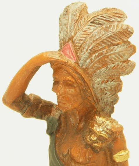 Cargo-To-Go: G Scale Cigar Store Indian Statue - 101-0531