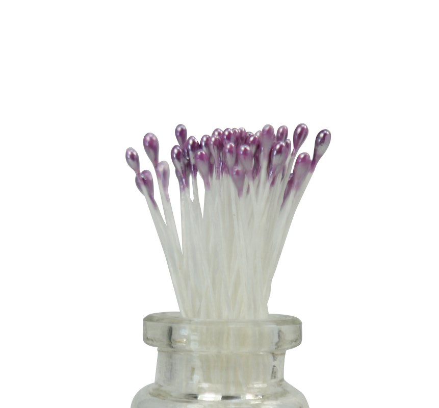Stamens - Purple - Foral Deco (Double Headed) 72 pieces