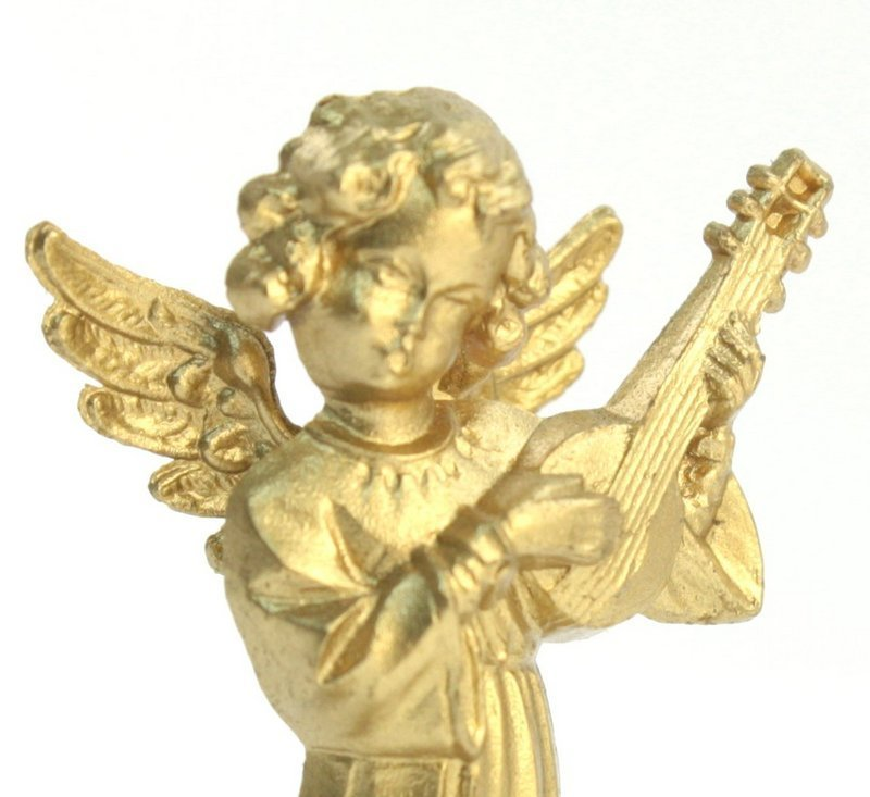 Golden Angels - Set of 6 - Vintage German - 701-1009