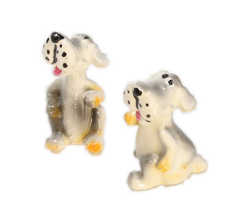 "Dogs - 1"" Sitting Hounds - Set of Four! #800-2612"