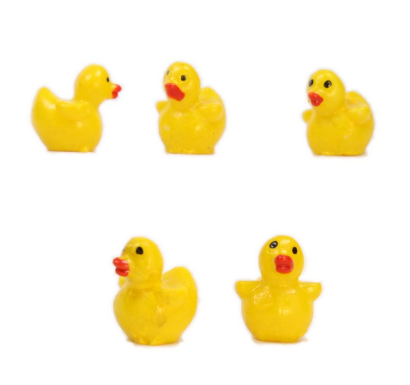 Duckies - Tiny Baby Ducks - 8 Pcs Set - 802-0835