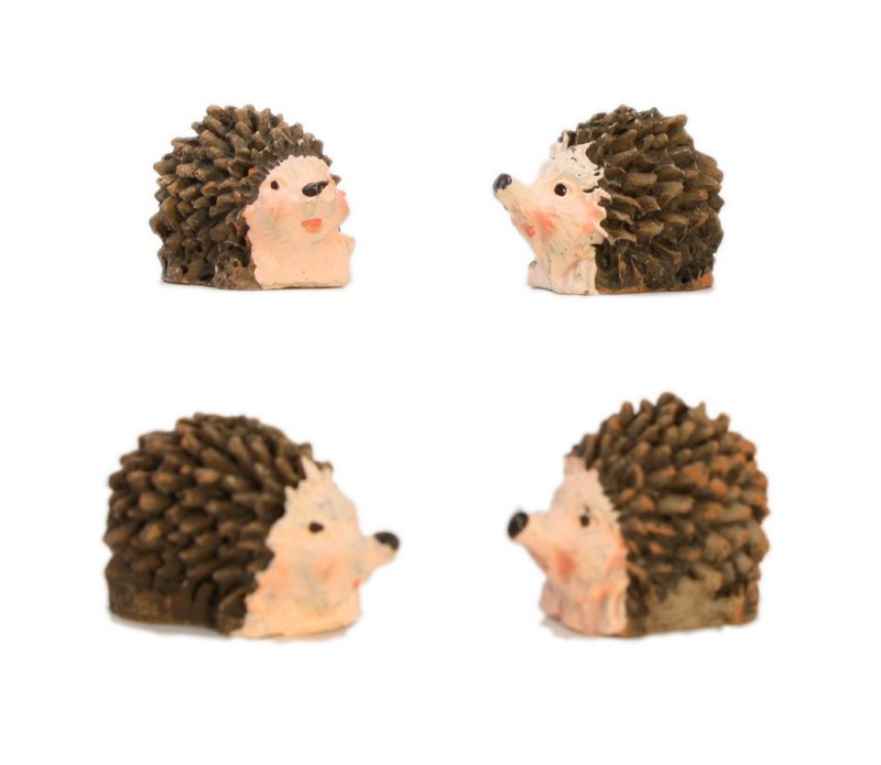 "Hedge Hogs - 1"" Mini - Set of Four! #804-3890"