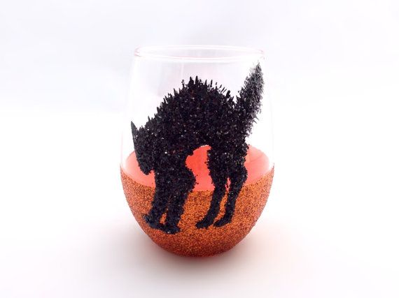 Halloween Glitter Give Away! Real Black Glass Glitter!