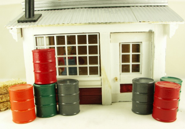 Oil Barrels - G - 12 Pcs Set - Fast and Easy Layouts - 101-0804S