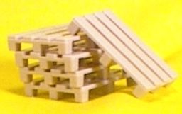 Cargo-To-Go: O GA Pallets - Set of 10 - Layout Details - 101-091
