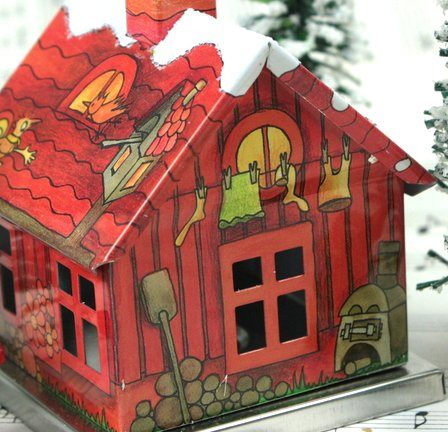 Red - Gnome Home -  #D-017-23-1
