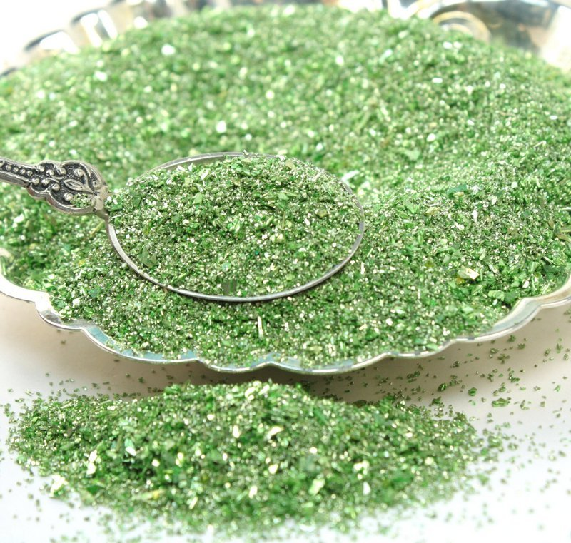 Pale Yellow Green Fusion Glitter - 311-7090-YG