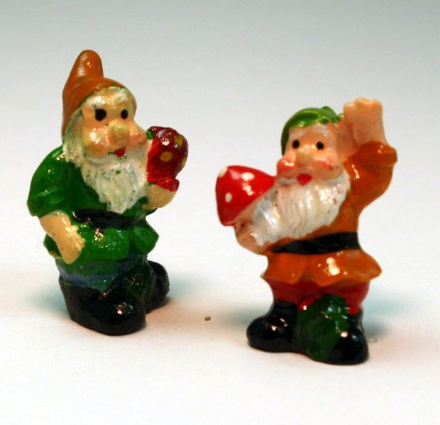"Gnome - 1"" Mini  - Set of Four! #800-2613"
