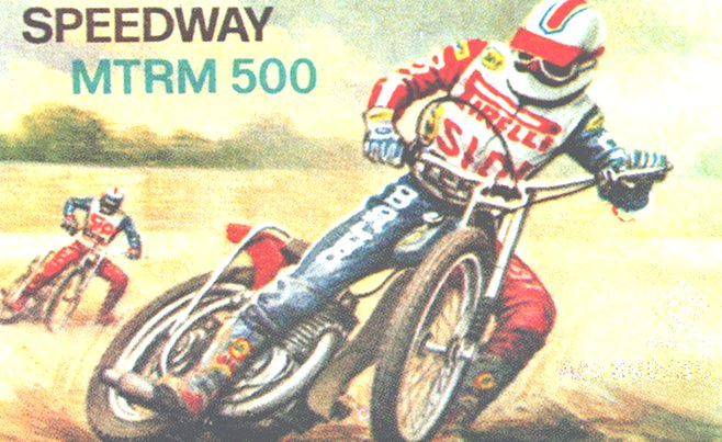 Speedway MTRM 500 Italy Grisoni Cycle Kit - IV3-2423