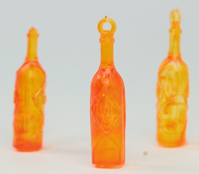 Vintage Wine Bottles - 24 pcs - German - IV3-2453