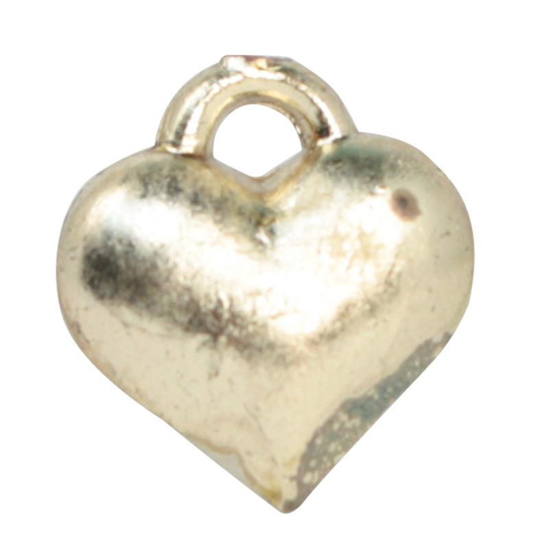 Set of 12 Tiny German Imports Tiny Love Flatback Hearts