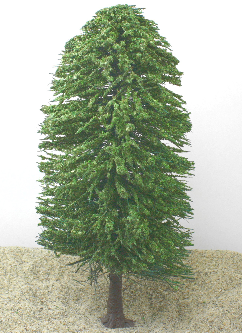 "Leafy Forest Tree - 6"" Tall  - German Imports - IV3-2469"