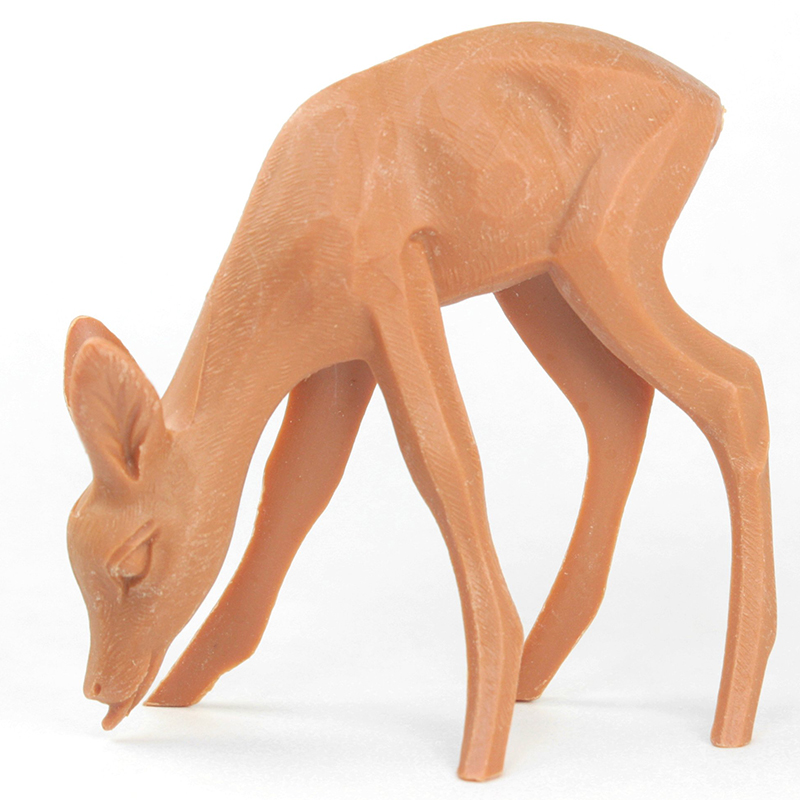 "Deer - 2.5"" Eating - Vintage German - IV3-2473"