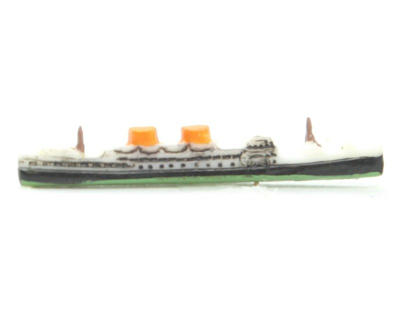 Vintage Tiny Ocean Liners -  German  - 12 pcs - IV3-2488