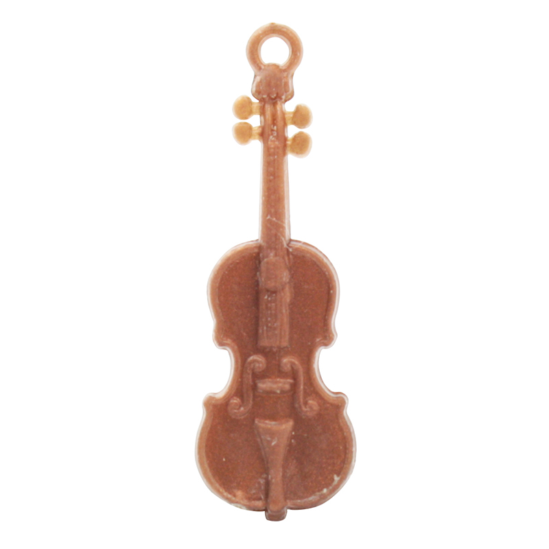 Musical Violins Charms - German - 50 pcs - IV3-2491