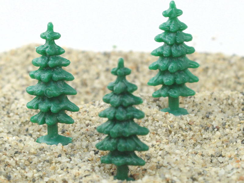 Fairytale  Pine Trees - German - 12 pcs - IV3-2510