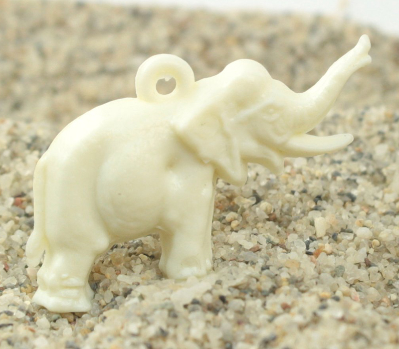 Elephant Charms - Vintage German - IV3-2511