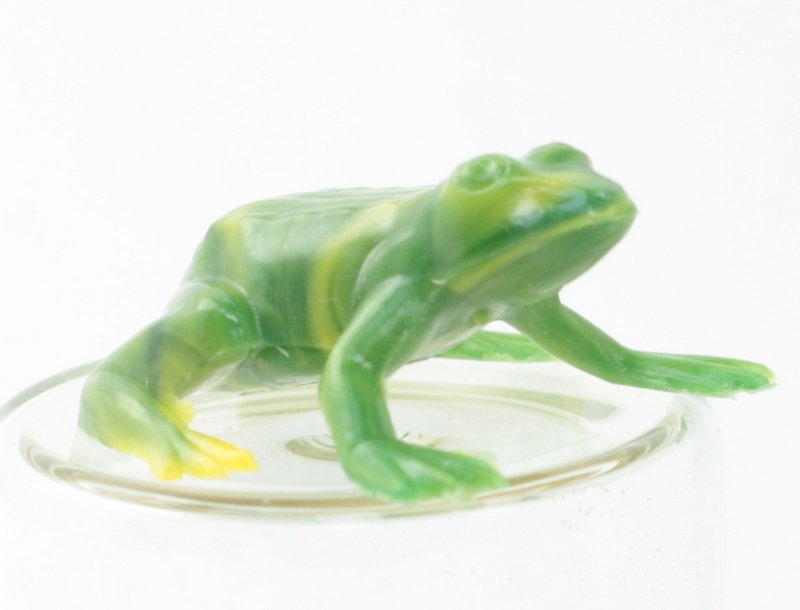 Frogs - Tiny Vintage Minis - German - 6 pcs - IV3-2534