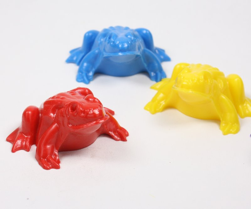 Frogs - Wild Colors - Set of 4 pcs - IV3-3602