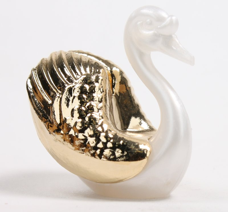 Swans - Golden - Set of 4 pcs - IV3-3605