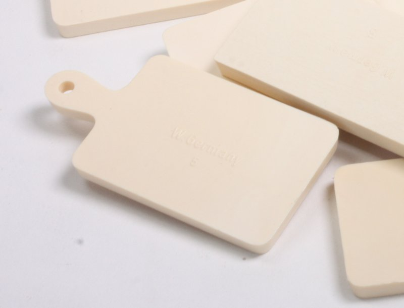 "Cutting Boards - Square - 1"" - Set of 8 pcs - IV3-3608"