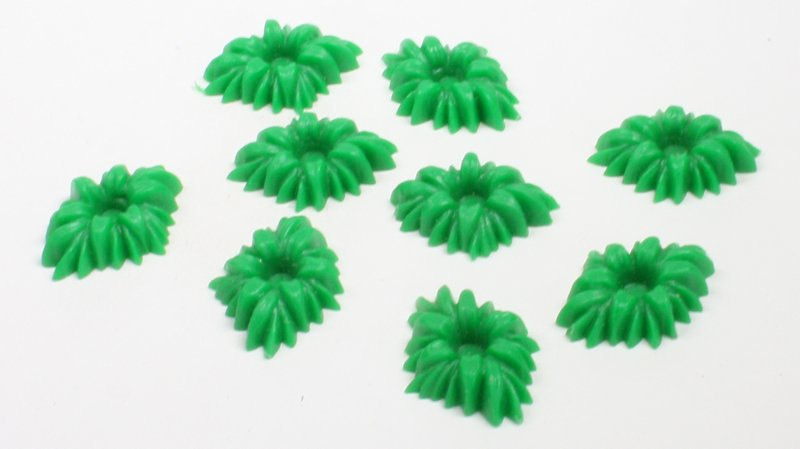 Green Shrubs Bushes - Set of 12 pcs - IV3-3610