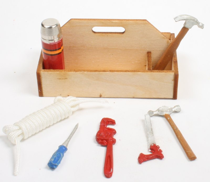 Tool Box Set - G Scale - with 7 tools - IV3-3611