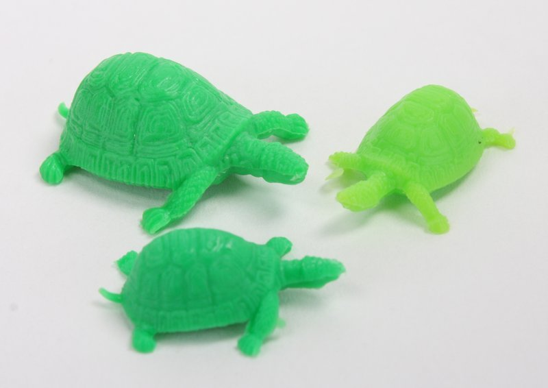 Green Turtles - Set of 12 - Italian! - IV3-3612