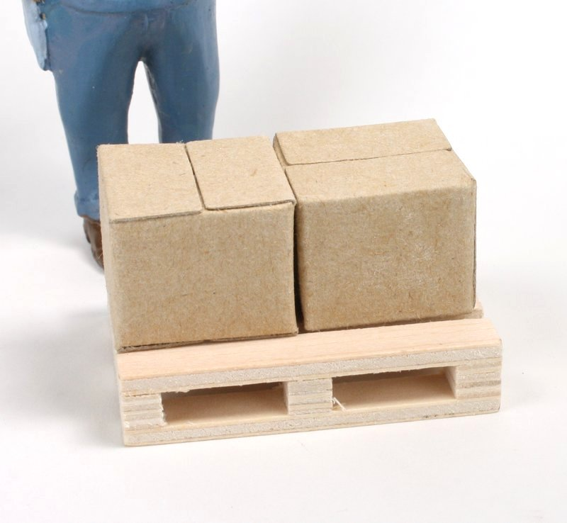 Cardboard Boxes - G Scale - Set of 2 - IV3-3617