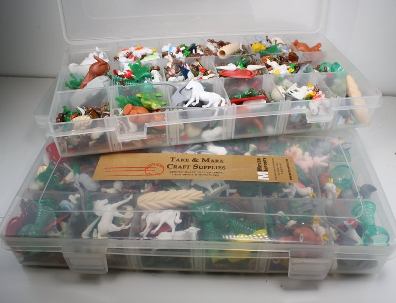 Plastic 5 Mega Pack Mini Vintage German Miniatures IV3-3622 oz per kit