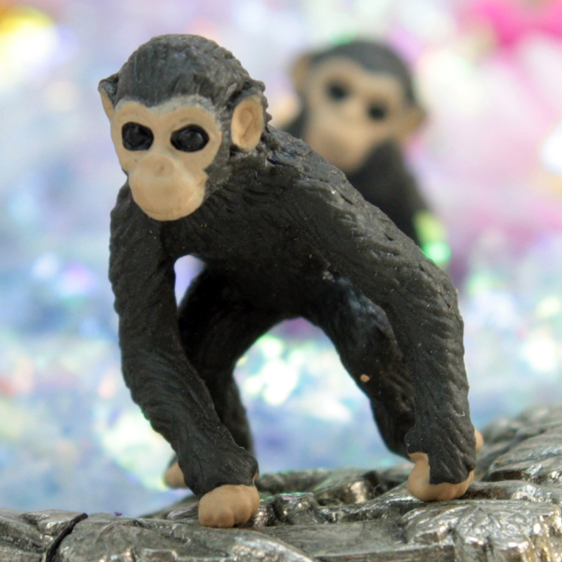 Chimp -Monkey Babies - Set of 4 - 234-9722