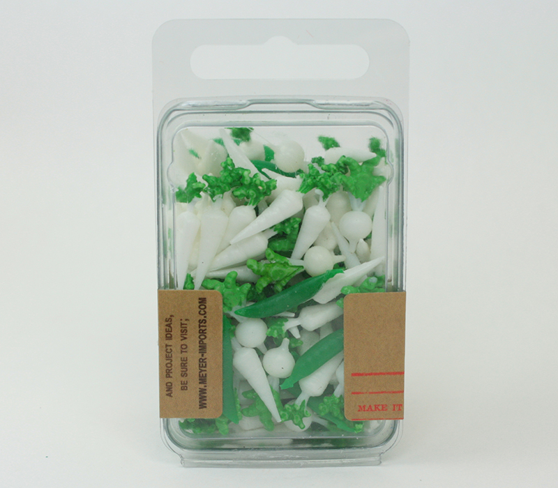 Dollhouse Vegetables - German - 150 pcs - IV3-3503