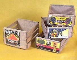 Cargo-To-Go: Vintage FRUIT Crates! Very Realistic! - 101-0830