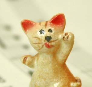 "1"" Playful Cats - Set of Four! #800-2611"