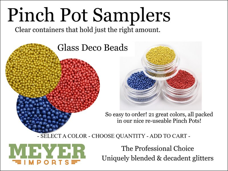 * Pinch Pots - Deco Beads (312-2001)