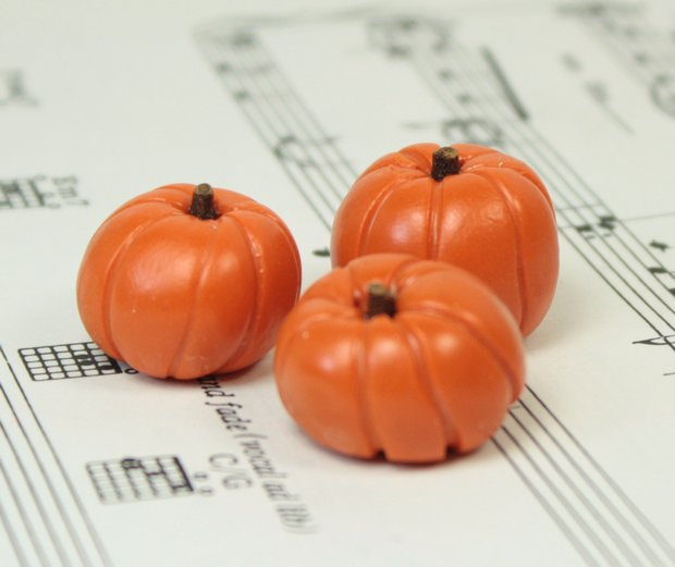 Realistic Pumpkin - Set of 4 - 101-0906